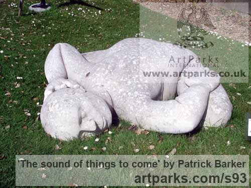 Lepine Limestone Garden Or Yard / Outside and Outdoor sculpture by sculptor Patrick Barker titled: 'The sound of things to come' - Artwork View 2