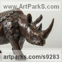 Random image from Rhino and Rhinoceros Hippo and Hippopotamus sculpture statue statuette