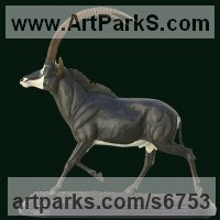 Random image from Antelope sculpture