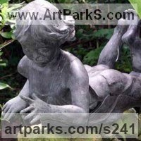 Random image from Children Playing Sculptures or Statues or statuettes