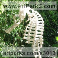 'Architecture of a Seahorse (garden Large sculptures)' by Peter Moulton