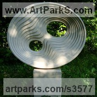 Emotion Sculpture by sculptor artist Peter Wylly titled: 'Lonji' in Thermoblock and concrete