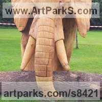 Random image from Elephants (Pachederms) Sculptures, African, Indian, Sumatran
