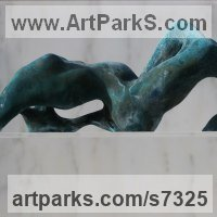 Sensual Sculpture or Statues by sculptor artist Rogier Ruys titled: 'LOVELY SURRENDER' in Bronze or a choice of material