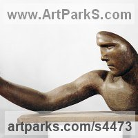 Commemoratives and Memorials Sculpture by sculptor artist Valery Yevdokimov titled: 'Self Portrait (bronze Portrait Commission Contemporary/Modern Bust art)' in Bronze