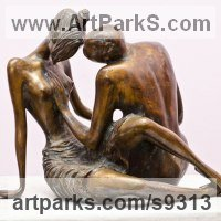 Love / Affection Sculpture by sculptor artist Zakir Ahmedov titled: 'Love'