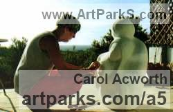 Sculptor Carol Acworth