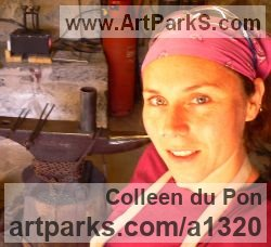 Sculptor Colleen du Pon BA Hons Silversmithing and Metalwork