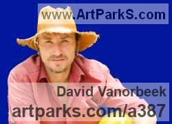 Sculptor David Vanorbeek