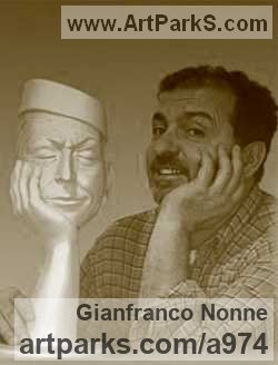 Sculptor Gianfranco Nonne