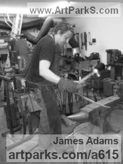 Sculptor James Adams BA Fine Art