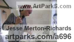 Sculptor Jesse Merton-Richards