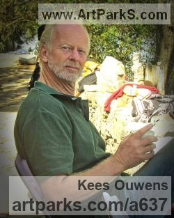 Sculptor Kees Ouwens