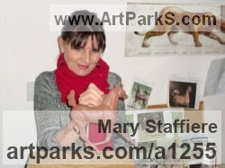 Sculptor Mary Staffiere