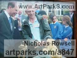 Sculptor Nicholas Rowsell