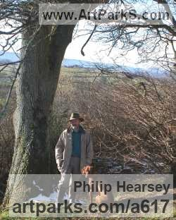 Sculptor Philip Hearsey