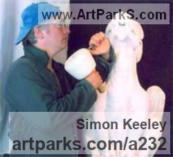 Sculptor Simon Keeley MA