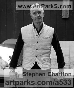 Sculptor Stephen Charlton