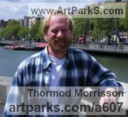 Sculptor Thormod Morrisson
