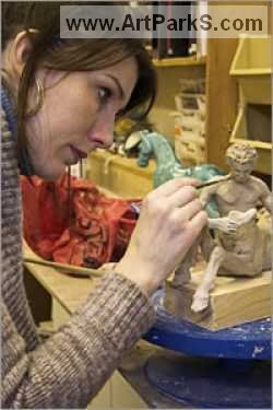 Sculptor April Young