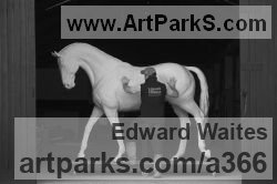 Sculptor Edward Waites
