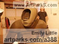 Sculptor Emily Little SSA, VAS, BA