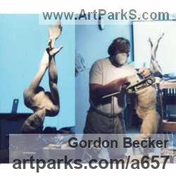 Sculptor Gordon Becker