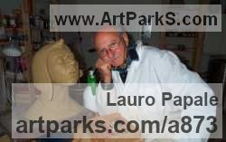 Sculptor Lauro Papale