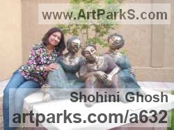 Sculptor Shohini Ghosh BFA