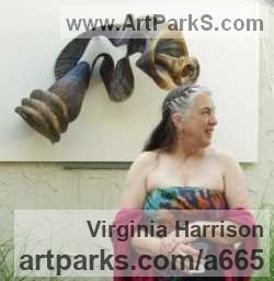 Sculptor Virginia Harrison