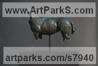 Bronze Polo Pony and Pony sculpture / statue / statuette / figurine / ornament Portraits Commissions Memorials sculpture by Edward Waites titled: 'Stallion Torso'