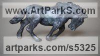Bronze Horses Heavy / Working Shire, Plough, Dray, Barge, Horses Sculptures Statues statuettes commissions sculpture by Edward Waites titled: 'Work Horse (Bronze Plough/Cart/Barge/Dray sculpture/statuette/statue)'
