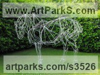 Random image from Sculpture or Statues made from Metal Rods or Bars