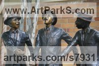Bronze Commemoratives and Memorials sculpture by sculptor Heidi Hadaway titled: 'St. Stithians Boys (School Boys sculpture)'