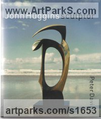 Books by sculptor artist John Huggins titled: 'John Huggins Sculptor' in Glossy paper