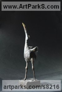 Bronze Water Birds / Water Fowl / Seabirds / Waders sculpture by Krassimir Rangelov titled: 'Bird'