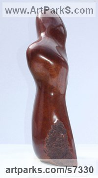 Bronze Spiritual sculpture by Marko Humphrey-Lahti titled: 'Eype Figure'