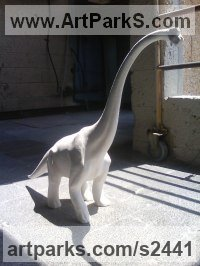 Monsters Sculpture by sculptor artist Meir Cohen titled: 'baby dinosaur from ceramic' in Ceramic