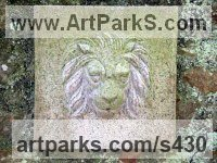 Granite Water Features, Fountains and Cascades sculpture by sculptor Moudoir titled: 'Lion Head Fountain'