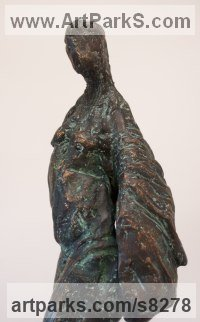 Bronze Emotion sculpture by Pam Foley titled: 'Relearning to Fly'