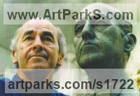 Bronze Portrait Sculptures / Commission or Bespoke or Customised sculpture by sculptor Peter Thursby titled: 'Peter Thursby'