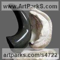 Carved Stone Nude or Naked Couples or Lovers sculpture by Sandra Borges titled: 'Eros 1 - Tensao (Contemporary Sexual sculptures)'