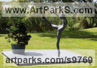 Bronze Ballet Dancer Ballerina Classical Dance Sculptures Statues statuettes Figurines sculpture by Sterett-Gittings Kelsey titled: 'Attitude Croisse of Richard Polich'