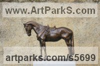 Bronze Small Animal sculpture by sculptor Yanina Antsulevich titled: 'Sardinian Horse (Bronze Small/Little Equine statuettes/figurine/statue)'