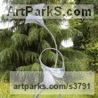 Steel Organic / Abstract sculpture by sculptor Adrian Payne titled: 'Ginko Bilboa'