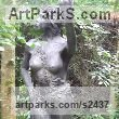 "bronze sculpture of females by Alan Biggs titled: ""Titania"""