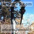 Metal Garden Or Yard / Outside and Outdoor sculpture by sculptor Alan Jack titled: 'Cormorant' - Artwork View 1