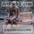 Bronze Human Figurative sculpture by sculptor Anthony Smith titled: 'The Young Charles Darwin'