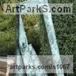 Bronze sculpture by sculptor Anthony Veale titled: 'Apocalypse (bronze abstract Contemporary statue garden/Yard Outdoor)'