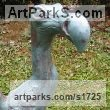 Bronze Extinct Animals sculpture by Bruce Hardwick titled: 'Little Dodo (Bronze Baby Dodo Indoor Outdoor statuette)'